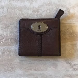 Fossil Bifold Leather Wallet Brown